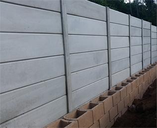 Precast Walls - Precast & Razor Fencing